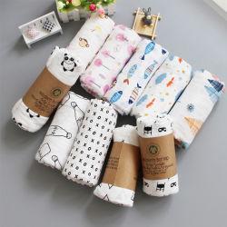 Manta Muslin 100% macio de algodão bebê recém-nascido cobertores turco gaze Finalização Infantil Sleepsack Swaddles Carrinho de cobrir as crianças Lençol