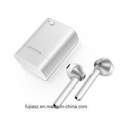 De blauwe Hoofdtelefoons Draadloze Earbuds van de Tand met Mic Blauwe Tand 4.1 + de MiniHoofdtelefoons van het in-oor EDR