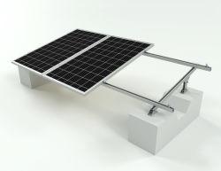 دعامة شمسية مجلفنة لتثبيت اللوحة الكهروضوئية للسقف المسطح
