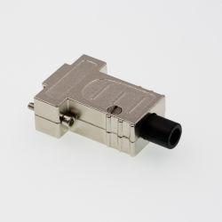 D-SUB 9pin Shell-Zink-Hauben-rechteckiger Hochleistungsverbinder für Draht-Verdrahtung und Kabel