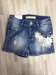 Pocket cero pantalones vaqueros cortos chica