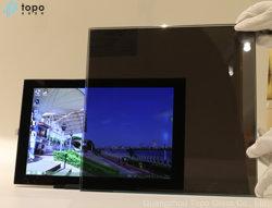 Una manera de ver See-Through cristal con espejo espía atómico en una sola pieza de vidrio (M-S)