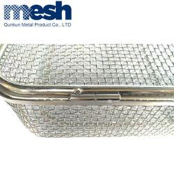 Настраиваемые проволочной сетки из нержавеющей стали корзины для ванной комнатой и кухней корзину