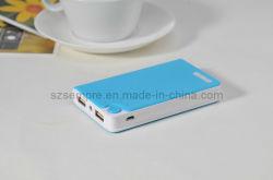 USB 2 7200mAh carregador da bateria externa portátil, banco de potência para telefone celular, iPhone4/4s/5