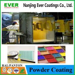 Revestimiento de pintura electrostática en polvo epoxi para metal