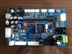 Dispensador de combustível o controle da placa principal do controlador de peças com bico único