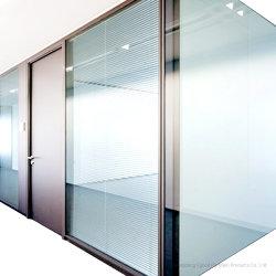 Insonorización de 108mm de pared de vidrio ignífugo muro de separación de la partición de oficina