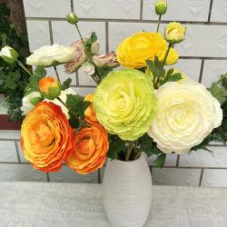 زهرات زهور الحرير الرخيصة المصطنعة زفاف