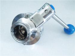O Quick Install Válvula Borboleta de Aço Inoxidável