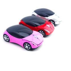 3D dedo óptico USB Mini Sport cor personalizada promocional com fio forma Aluguer de Carro Sem Fio Mouse