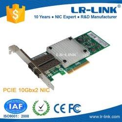 Intel 82599eb PCI-E X8 10g 10gbe 10gbps 2 SFP+のポートのファイバーサーバー、ネットワークアダプタのカードX520-Sr2 Da2互換性のあるLrec9802bf-2SFP+