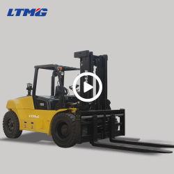 Carrello elevatore a forcale di Ltmg 2 tonnellate 3 tonnellate 4 tonnellate 5 tonnellate 6 tonnellate 7 tonnellate 8 tonnellate un carrello elevatore diesel da 10 tonnellate con Ce