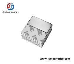 Kundenspezifischer Neodym-seltene Massen-Block-Magnet mit 3m Kleber-Lieferanten
