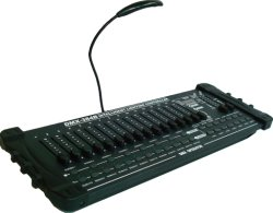 Этапе лампы DMX 512 / контроллера консоли администратора (DMX 384 B)