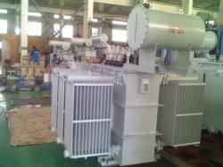 Oil-Immersed Transformador de potencia/energía de la Subestación subestación prefabricados