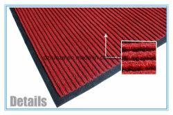 100% poliéster Material de diseños simples, Alfombras patrón de Shaggy con apoyo PVC en China Fabricante
