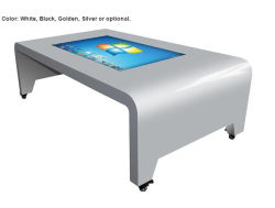 22~65 인치 접촉 스크린 광고 전시, LCD 모니터, 광고 선수, 디지털 Signage, 각자 서비스 정보 빌 음식 지불 대화식 간이 건축물