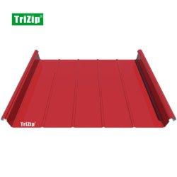 Trizip Aluminium Alloy staande naad Wandmuur dakpaneel tegel Trizip65-500