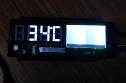 Entrada de 12V, 12mm de espessura, toque em Mudar com o tempo e temperatura, sensor de Toch para LED de controle de espelho retrovisor ou casa de banho