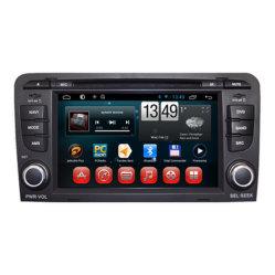 GPS Navigation System van Radio DVD van de auto voor Audi A3