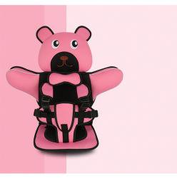 카휴대용 유아용 안전 시트 쿠션 유아용 어린이 9 12세 어린이용 좌식 쿠션이 있는 수개월 테디 디자인 Esg13055