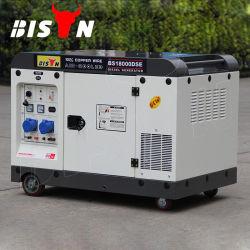 Le Bison 2V98f Endine deux cylindres 20kw potable générateur diesel silencieux