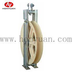 고전압 케이블용 단일 휠 번들형 도체 풀리