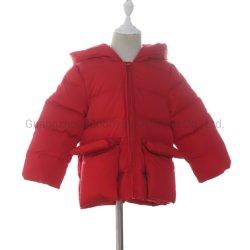 جيب مقنّع مبطن شتاء مبطن سترة من ملابس الأطفال الشركة المصنعة