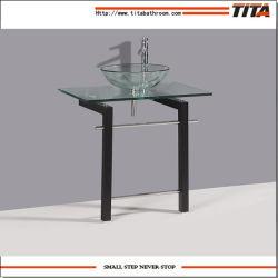 Стеклянная Раковина стекло / удаление из закаленного стекла бассейнов для ванных комнат / Кабинет Раковина (ТБ010)