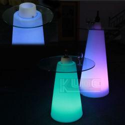 Arriba muebles 16 de la luz de LED que cambia de color LED Exterior Tabla