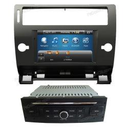 مشغل أقراص DVD للسيارة بشاشة تعمل باللمس للتنقل عبر نظام تحديد المواقع العالمي Citroen C4 النظام