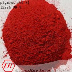Snel Roze Toner [12224-98-5] Rood 81 van het Pigment (het 45160:1 van C.I.)