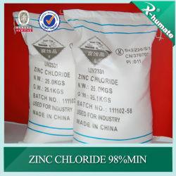 X-Humate Chemical Series Zinc كلوريد 98% الحد الأدنى للدرجة الصناعية