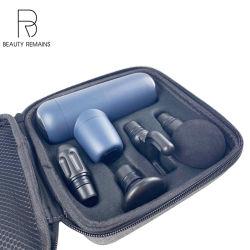 2020 Mini-Pistola de masaje de 4 velocidades de Gimnasia de fascia muscular Booster Masajeador de Espalda masaje de cuerpo de la herramienta de soporte técnico online
