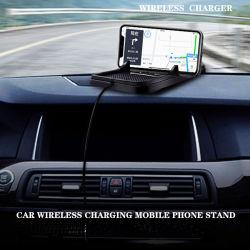 La Chine Usine fournisseur en PVC souple en plastique personnalisée toutes sortes de matériaux de charge sans fil de téléphone mobile, chargeur de téléphone mobile de la fabrication de voiture