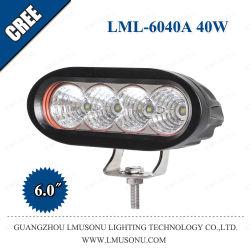 6,0 pouces 40W CREE Offroad LED lampe de travail auxiliaire pour l'auto Voiture Bateau du chariot