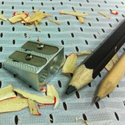 Taille-crayon en métal, convenable pour l'école Étudiants