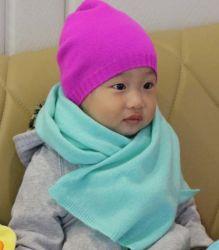 Kind Natural 100% Cashmere Baby Hat Scarf Garment Auf Lager