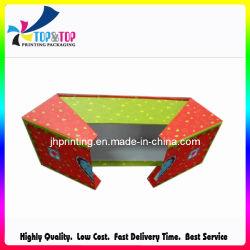 Flexível Caixa de papel/ Abrir o papel da caixa de cosméticos com padrão de freqüência cardíaca