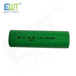 1,2V AA 2000Мач Ni-MH аккумулятор для High-Drain устройств