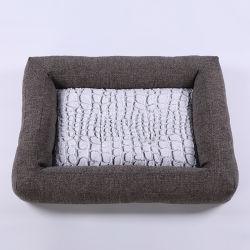 Tejido chenilla mayorista de productos pet singular mascota suave cama de lujo