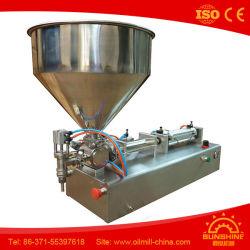 Macchina di rifornimento dell'olio di oliva della macchina di rifornimento dell'olio da tavola dell'acciaio inossidabile