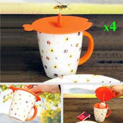 새롭게 디자인된 실리콘 컵 커버, 실리콘 컵 뚜껑 커버