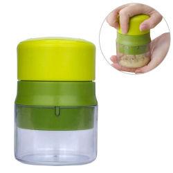 Coffre-fort Gadget de cuisine facile à nettoyer l'ail hachoir en noyer d'arachide