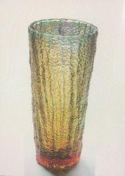 Haut de gamme Vase de fleurs de vitraux personnalisé
