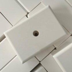 بطانة خزفية مقاومة للتآكل قابلة للحام مع سدادة خزفية و حلقة فولاذية