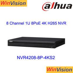 NVR4208-8p-4ks2 8channel 1u 8poe 4K H. 265 de Videorecorder van het Netwerk Lite