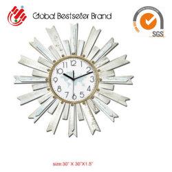 나무 프레임이 있는 2020 도매 드롭십 아름다운 시계, 핸드페인티드 장식 시계(GF-039)