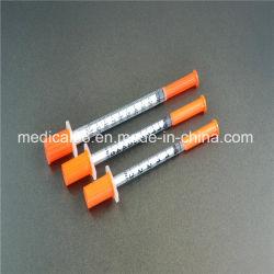 세륨을%s 가진 의학 처분할 수 있는 인슐린 주사통 0.5ml-1ml 및 중국 제조자에 있는 ISO 증명서