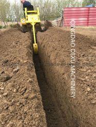 La Chine Meilleure Chaîne de la trancheuse de sol pour la construction et de terres agricoles pour le travail rapide